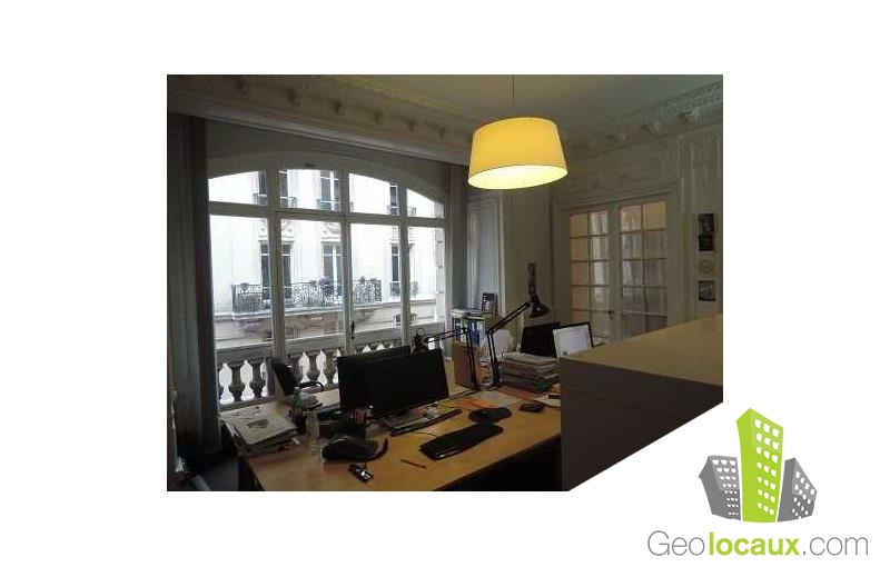 location bureau paris 9 75009 518 m geolocaux. Black Bedroom Furniture Sets. Home Design Ideas