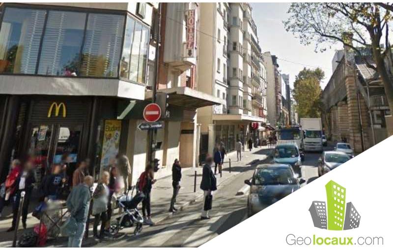 Location local commercial paris 19 75019 25 m geolocaux for Locaux commerciaux atypiques paris