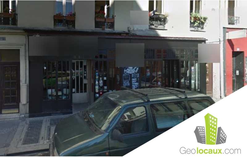 Vente local commercial paris 11 75011 100 m geolocaux for Locaux commerciaux atypiques paris
